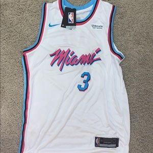 NWT Dwayne Wade Miami Heat Jersey Size 50